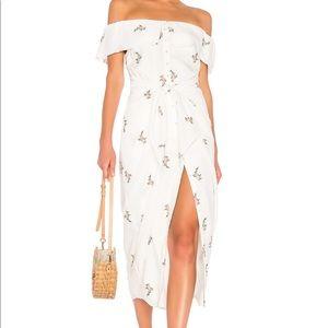 x REVOLVE Rumi Dress in White
